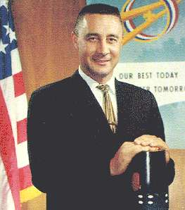 Gus Grissom - Piloted the Liberty Bell 7 spacecraft and became the second American in space